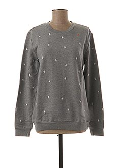 Sweat-shirt gris HUGO BOSS pour femme