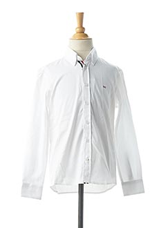Chemise manches longues blanc EDEN PARK pour garçon