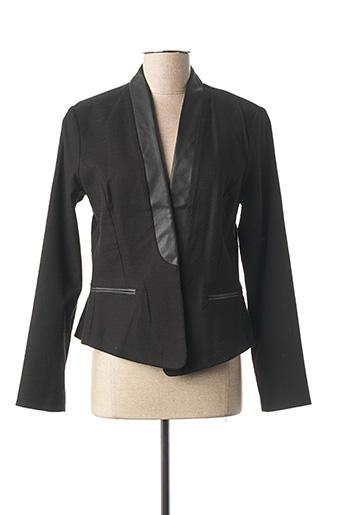 Veste chic / Blazer noir TOM TAILOR pour femme