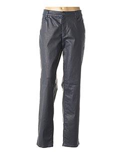 Pantalon casual bleu ANNA MONTANA pour femme