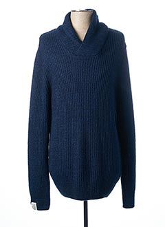 Pull col V bleu PEPE JEANS pour homme