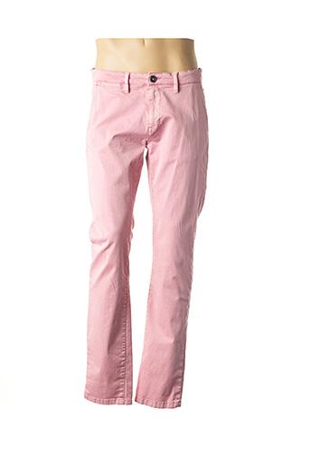 Pantalon casual rose TOM TAILOR pour homme