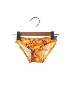 Bas de maillot de bain orange MONDACA pour fille