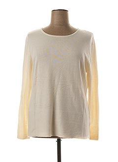 Pull col rond beige ANANKE pour femme