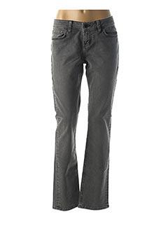 Jeans coupe droite gris LTB pour femme