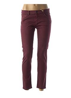 Pantalon 7/8 rouge LTB pour femme