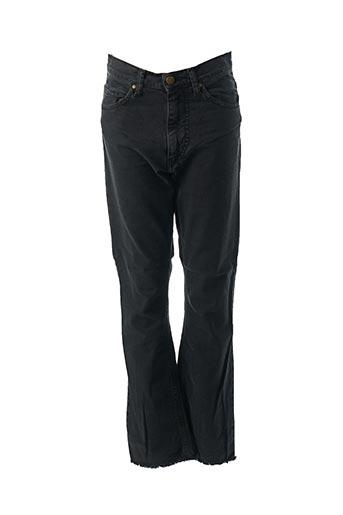 Pantalon 7/8 noir ACQUAVERDE pour femme