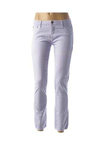 Pantalon 7/8 violet ACQUAVERDE pour femme