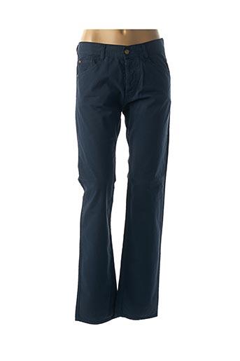 Pantalon casual bleu ACQUAVERDE pour femme