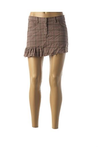 Jupe courte rose BELAIR pour femme