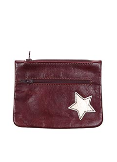 Porte-monnaie rouge MIKI THUMB pour femme