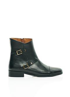 Bottines/Boots noir ANNE THOMAS pour femme