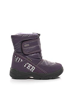 Bottines/Boots violet SYMPATEX pour fille