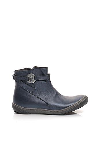 Bottines/Boots bleu LITTLE MARY pour fille