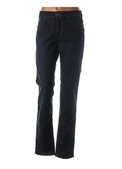 Jeans coupe droite bleu CMK pour femme
