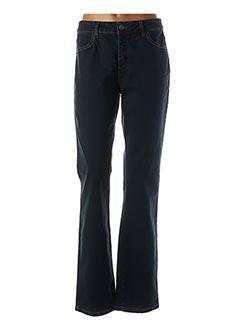 Jeans coupe droite bleu PIERRE CARDIN pour femme