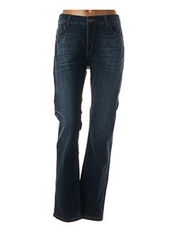 Jeans coupe slim bleu PIERRE CARDIN pour femme