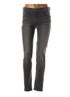Jeans skinny gris PIERRE CARDIN pour femme