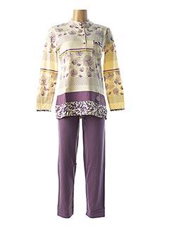 Pyjama violet ROSE POMME pour femme