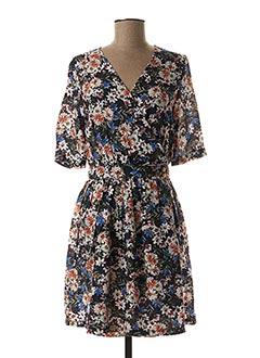 Robe mi-longue bleu GARANCE pour femme