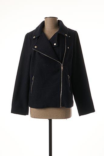 Manteau court bleu FRNCH pour femme