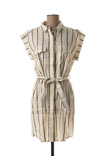 Robe courte blanc FRNCH pour femme