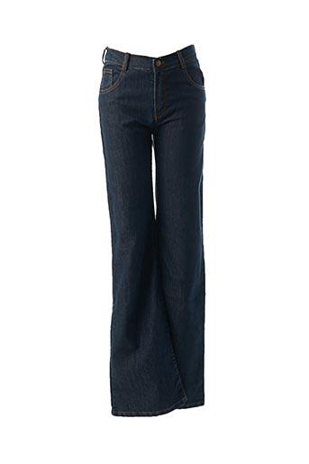 Jeans bootcut bleu EMILE ET IDA pour femme