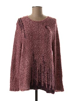 Pull col rond rose C.MISSARO pour femme