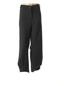 Pantalon 7/8 noir QUATTRO pour femme
