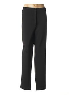 Pantalon chic noir QUATTRO pour femme