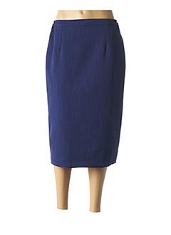 Jupe longue bleu QUATTRO pour femme