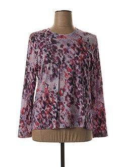 T-shirt manches longues violet GRIFFON pour femme