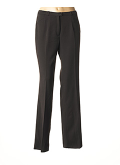 Pantalon chic marron CHRISTIAN MARRY pour femme