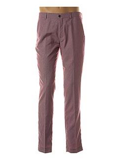 Pantalon chic violet YVES ENZO pour homme