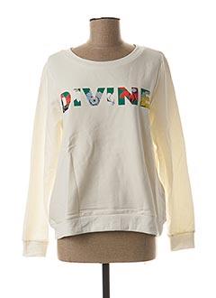 Sweat-shirt blanc VILA pour femme