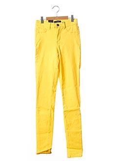 Pantalon casual jaune PIECES pour enfant