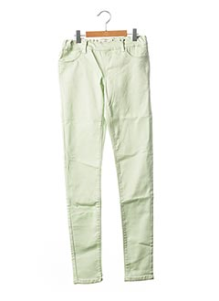 Pantalon casual vert NAME IT pour fille