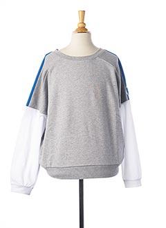 Sweat-shirt gris TEDDY SMITH pour femme
