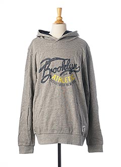 Sweat-shirt gris LMTD pour garçon