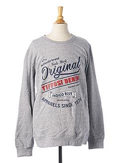 Sweat-shirt gris TIFFOSI pour garçon