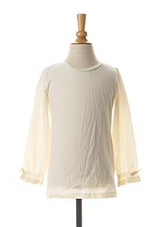 T-shirt manches longues blanc NAME IT pour fille