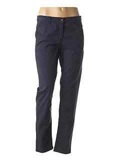 Pantalon casual bleu CONCEPT K pour femme