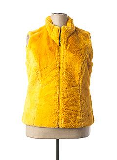 Veste casual jaune LEBEK pour femme