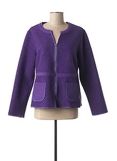 Veste casual violet TELMAIL pour femme
