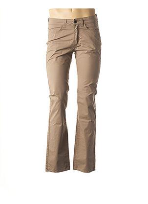 Pantalon casual beige REDMAN pour homme