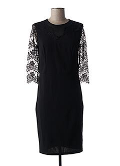 Robe mi-longue noir ROSE POMME pour femme