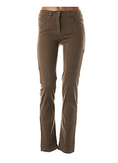 Pantalon casual marron ANNA MONTANA pour femme