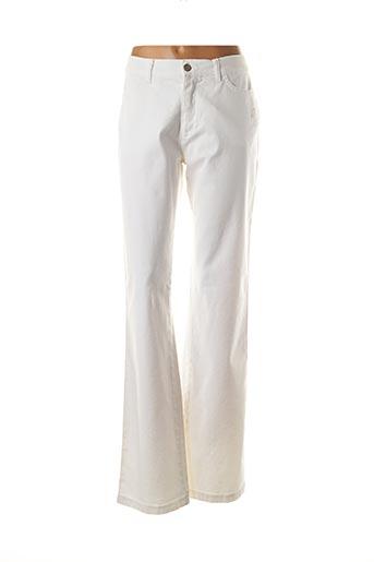 Pantalon casual blanc AQUA pour femme