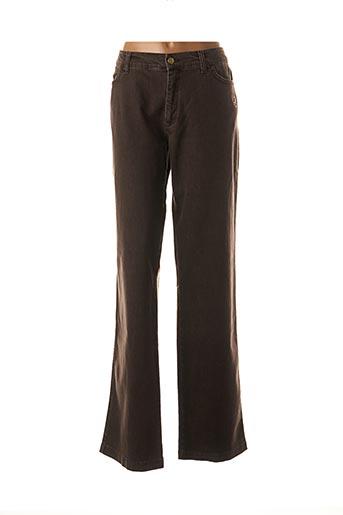 Pantalon casual marron AQUA pour femme