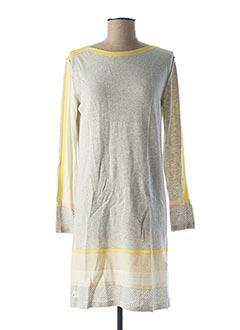 Robe pull gris DANIELA DALLAVALLE pour femme